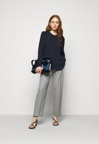 Theory - RUCHED BLOUSE - Blouse - navy ink - 1