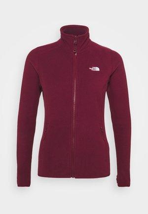 GLACIER  - Fleece jacket - regal red