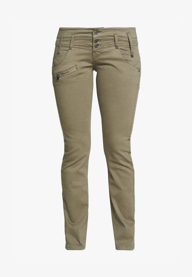 ALEXA - Slim fit jeans - deep green