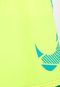 Nike Performance - VOLLEY SHORT - Swimming shorts - lemon - 2