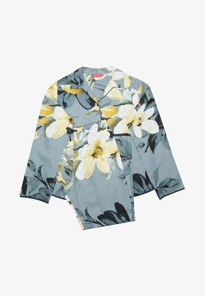 SET - Pyjama set - charcoal floral print