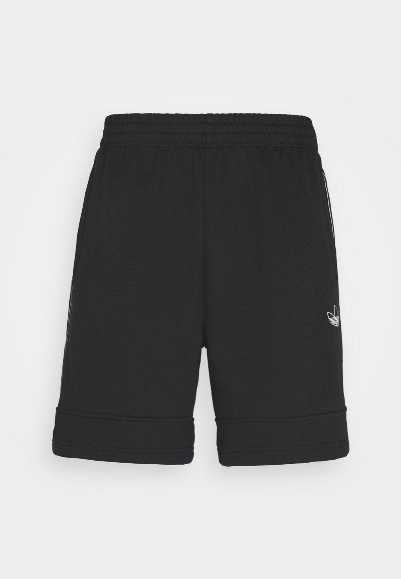 adidas Originals - Shorts - black/chalk white