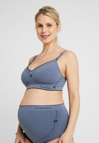 Cache Coeur - BREASTFEEDING BRASSIERE NURSING - Triangel BH - grey - 0