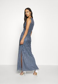 Lace & Beads - MACKENZIE MAXI - Occasion wear - navy irridescent - 2