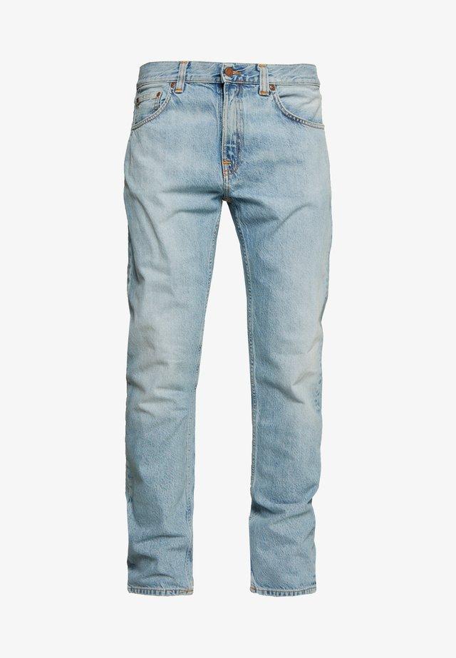GRITTY JACKSON - Straight leg -farkut - bleu vintage