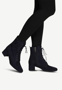 Tamaris - BOOTS - Lace-up ankle boots - navy - 0