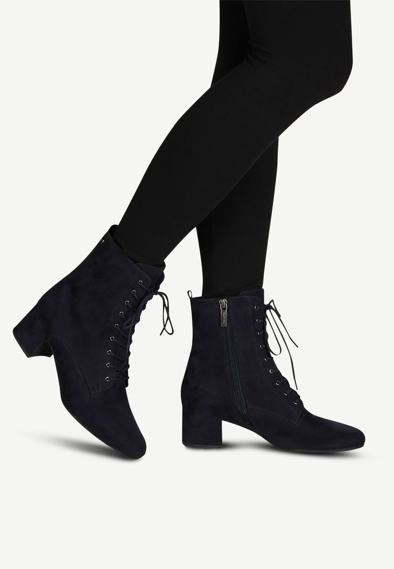Tamaris - BOOTS - Lace-up ankle boots - navy