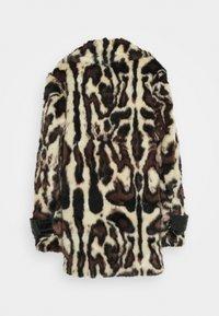Pinko - FEDELINO KABAN - Winter coat - nero/bianco/marone - 1