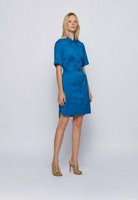 BOSS - DASHILO - Shirt dress - open blue - 1