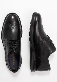 Cole Haan - ORIGINAL GRAND WINGTIP OXFORD - Stringate eleganti - black - 1