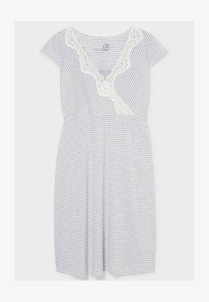 Nightie - white / grey