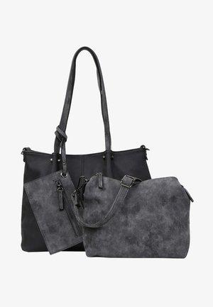 Tote bag - black grey