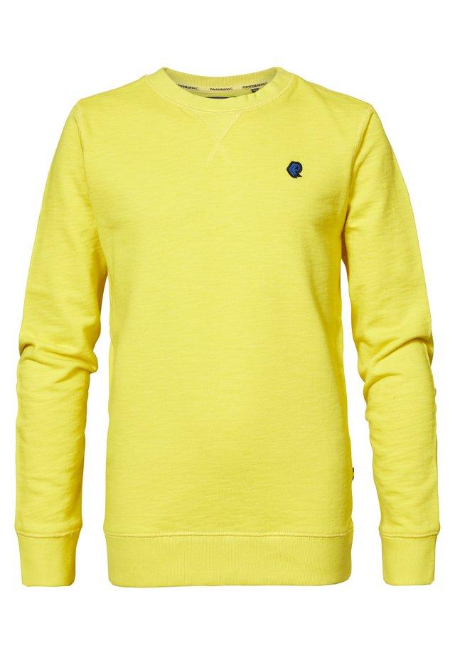 Sweatshirt - lemon