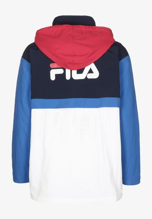 Light jacket - briwh/blk iri/vic blu/tr red