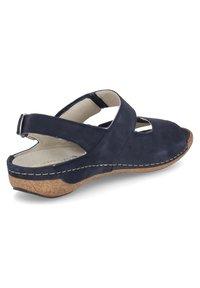 Waldläufer - HELIETT - Sandals - blau - 5