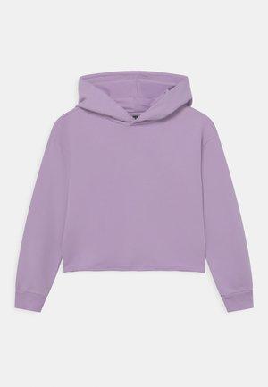GIRLS BOXY HOODIE - Sweatshirt - violett reactive