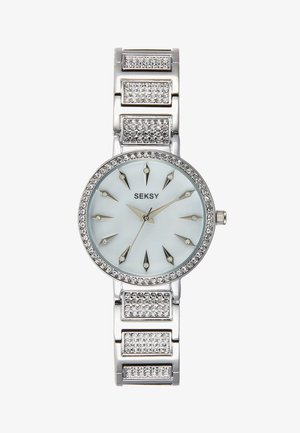 WRIST WEAR BY SEKONDA LADIES FASHION WATCH - Watch - silver-coloured