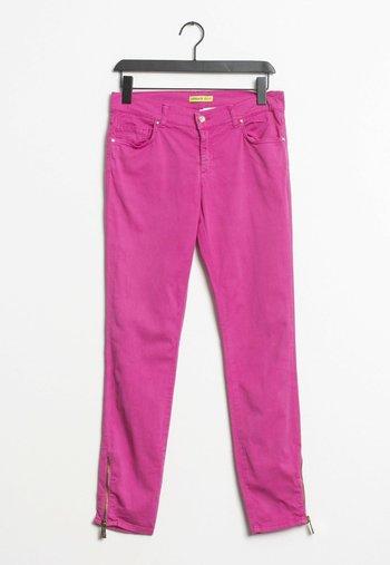 Straight leg jeans - pink
