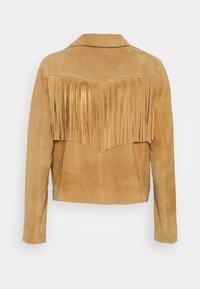 Oakwood - JANIS - Leather jacket - tan - 7