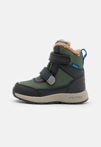 Finkid - LAPPI UNISEX - Zimní obuv - bronze green/graphit - 0
