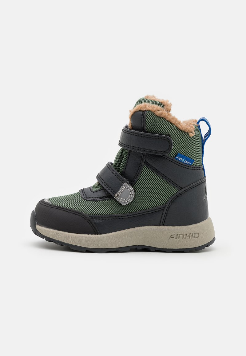 Finkid - LAPPI UNISEX - Zimní obuv - bronze green/graphit