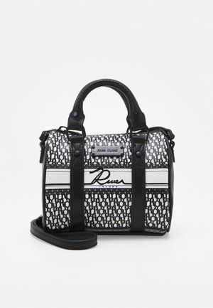 MINI BOWLER CROSSBODY - Torba na ramię - black