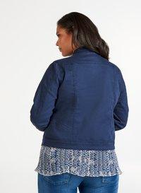 Zizzi - Denim jacket - dark blue - 2