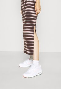 Nike Sportswear - FEMME DRESS  - Maxi dress - baroque brown/metallic gold - 3