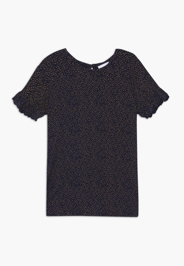 OLVIA TEE - T-shirt imprimé - black iris