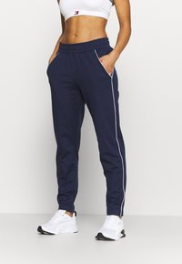Under Armour - TRICOT PANT - Tracksuit bottoms - midnight navy - 0