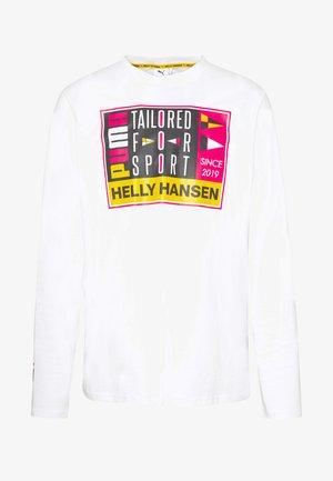 X HELLY HANSEN - Långärmad tröja - white