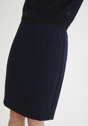 Pencil skirt - marine blue
