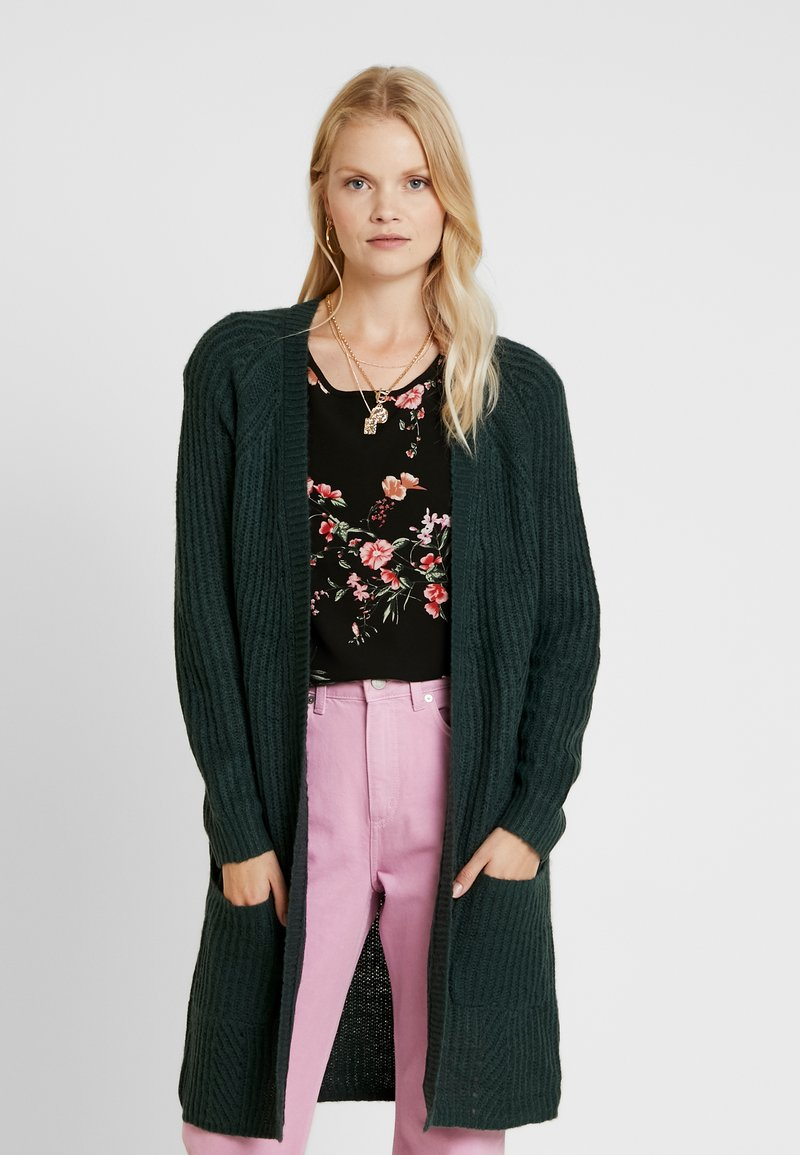 ONLY - ONLBERNICE - Cardigan - green gables/black melange