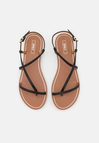 ONLY SHOES - ONLMELLY STRING  - T-bar sandals - black - 5
