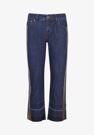 PANTALON DENIM BANDA FOIL - Relaxed fit jeans - indigo