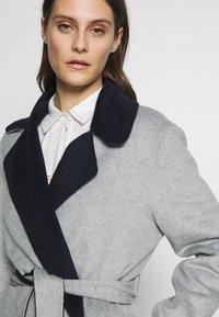 Expresso - BRENDA - Classic coat - hellgrau - 3