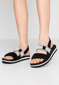 UGG - ZUMA SLING - Sandals - black - 0
