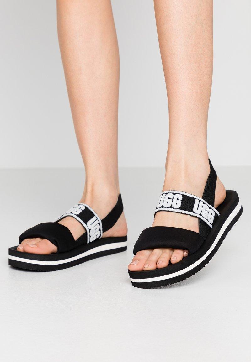 UGG - ZUMA SLING - Sandals - black