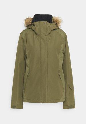 JET SOLID - Snowboard jacket - burnt olive