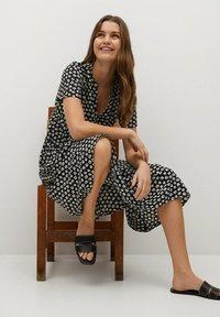Mango - FIBI-I - Day dress - black - 6