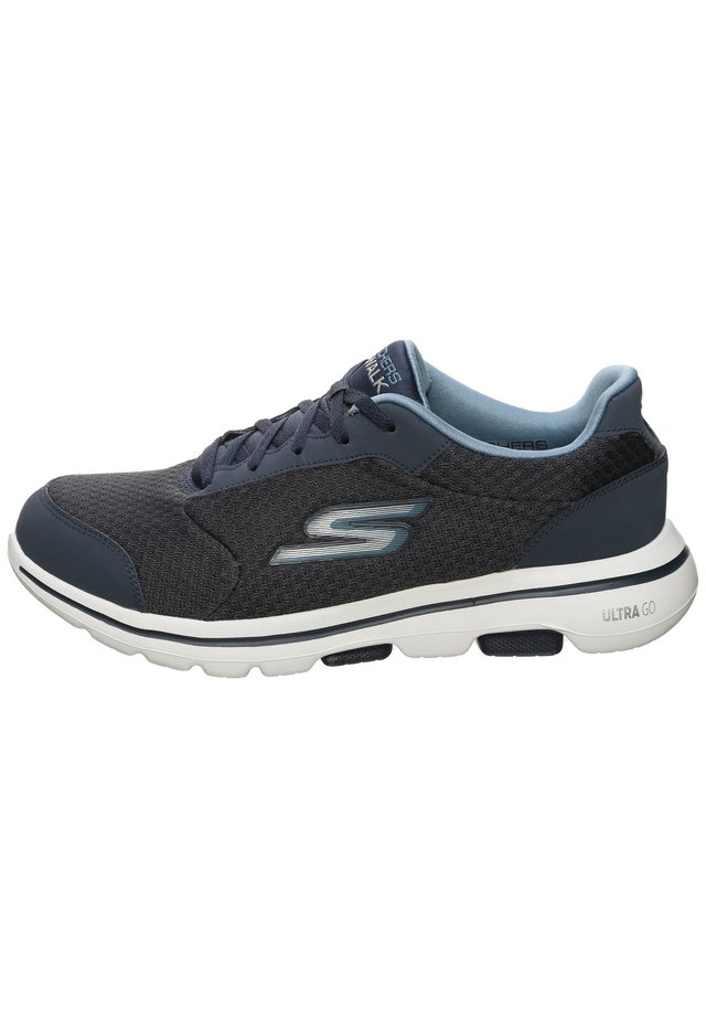 GO WALK 5  QUALIFY - Obuwie treningowe - dark blue/dark grey