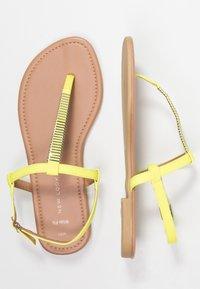New Look Wide Fit - WIDE FIT HETALLIC - T-bar sandals - light green - 3