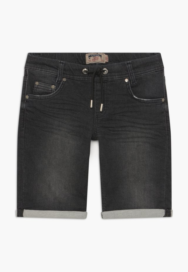 BOYS - Shorts di jeans - black medium