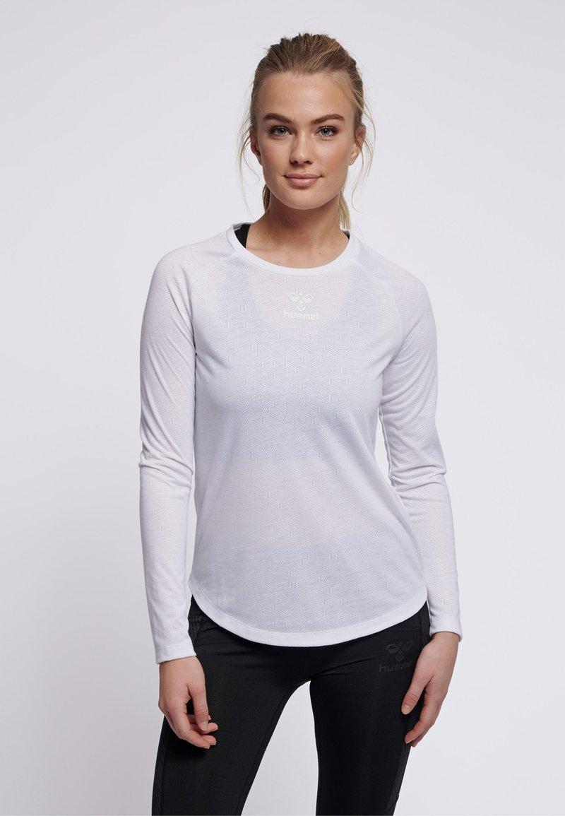 Hummel - VANJA  - Long sleeved top - white