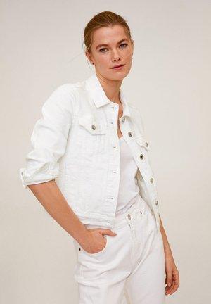 VICKY - Jeansjacke - weiß
