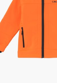CMP - KID FIX HOOD UNISEX - Soft shell jacket - flash orange - 3