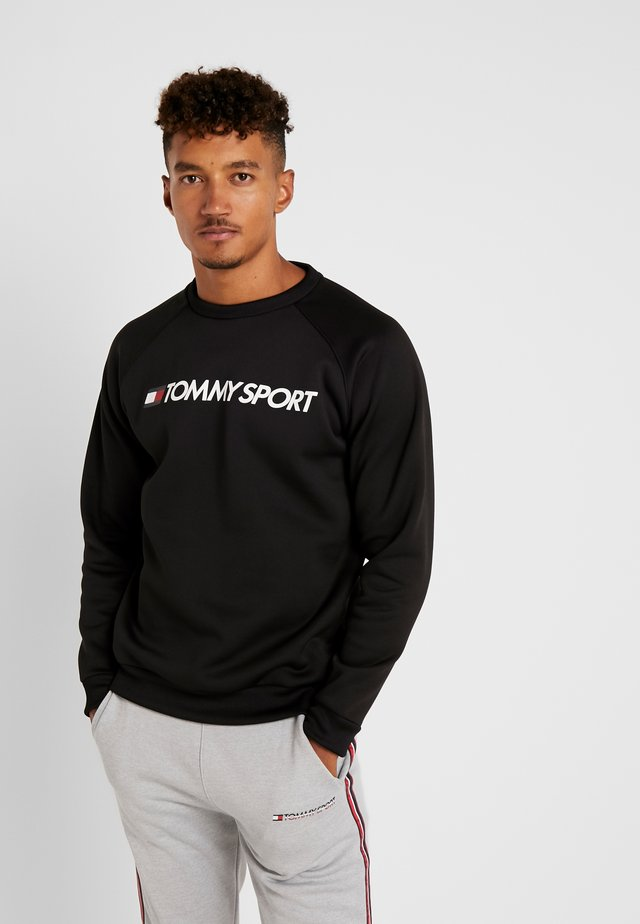 LOGO CREW NECK - Sweatshirts - black