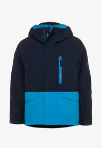 Quiksilver - MISSION SOLID YOUTH UNISEX - Snowboardová bunda - brilliant blue - 0