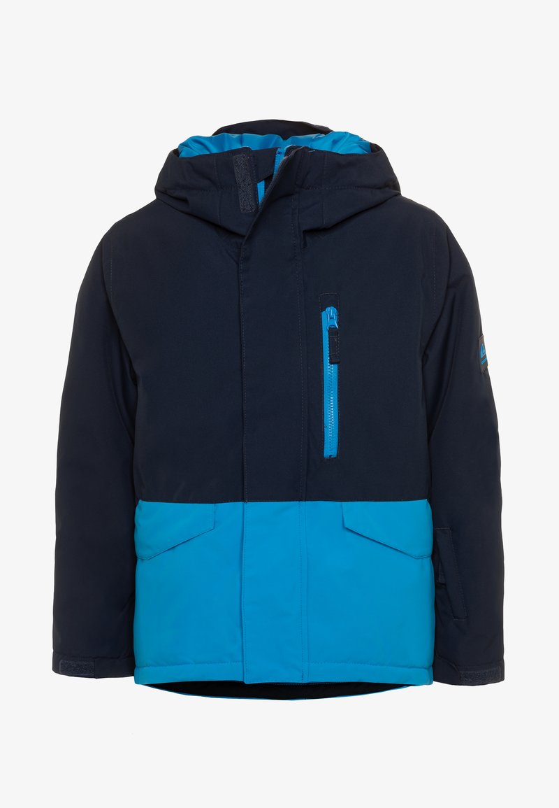 Quiksilver - MISSION SOLID YOUTH UNISEX - Snowboardová bunda - brilliant blue
