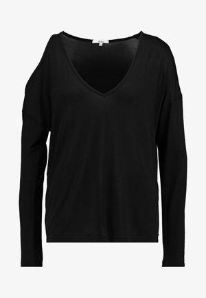 CORA - Maglietta a manica lunga - black